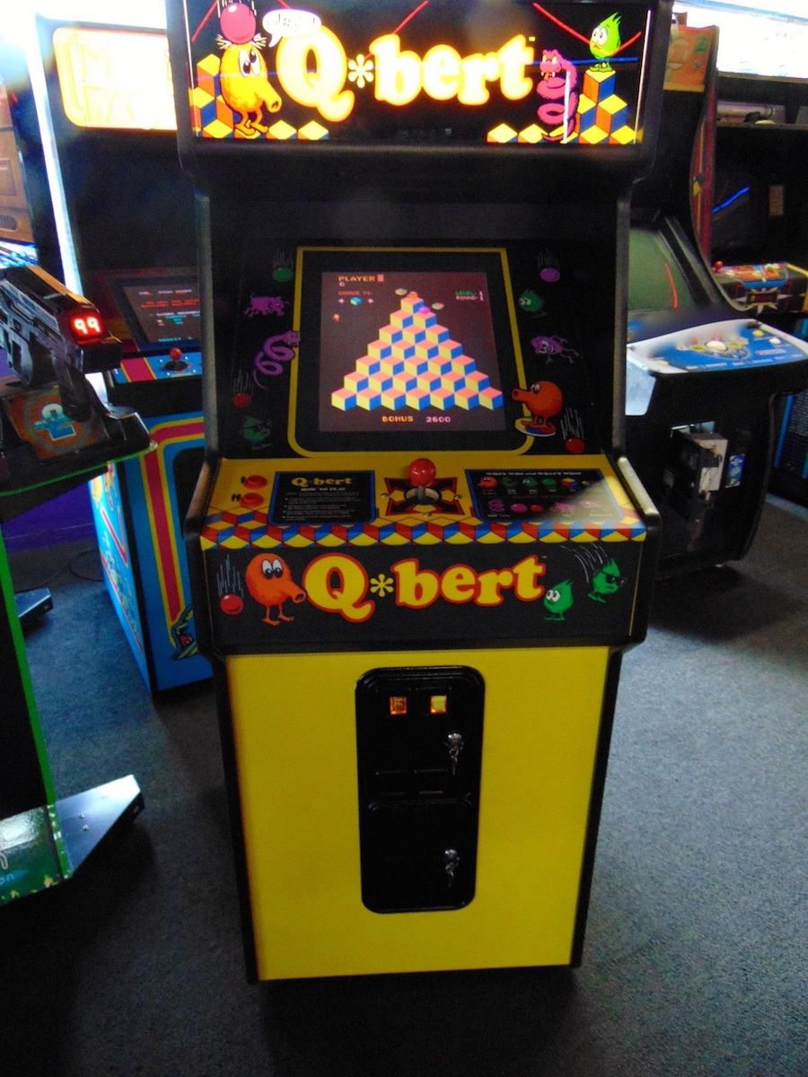 New Qbert Amp Qbert Cubes Arcade Game Chattanooga Pinball